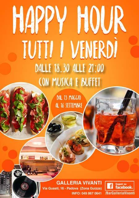 Creazione Flyer per happy hour