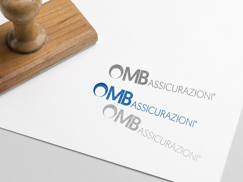 Restyling logo timbro prove colore