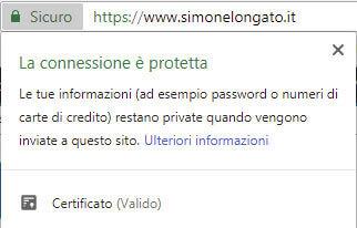 https connessione protetta sicura