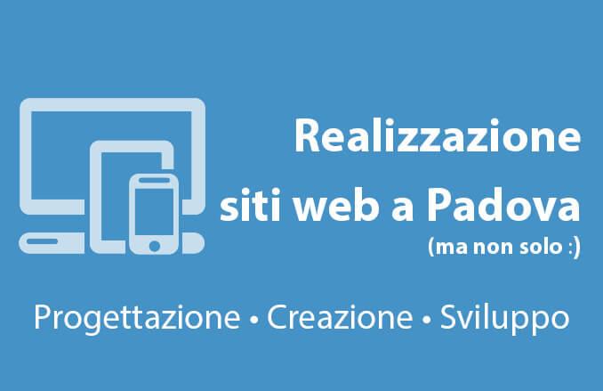 Realizzazione siti web a Padova