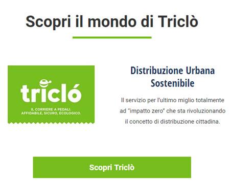 PostEx ha sede a Padova e è proprietaria del marchio Triclò