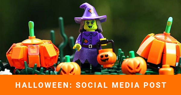 Halloween: social media post Esempi