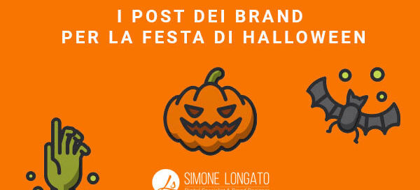 I post dei brand per Halloween