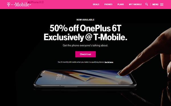 T-Mobile e la teoria del colore