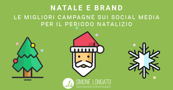 Natale e brand nei social media e la strategia