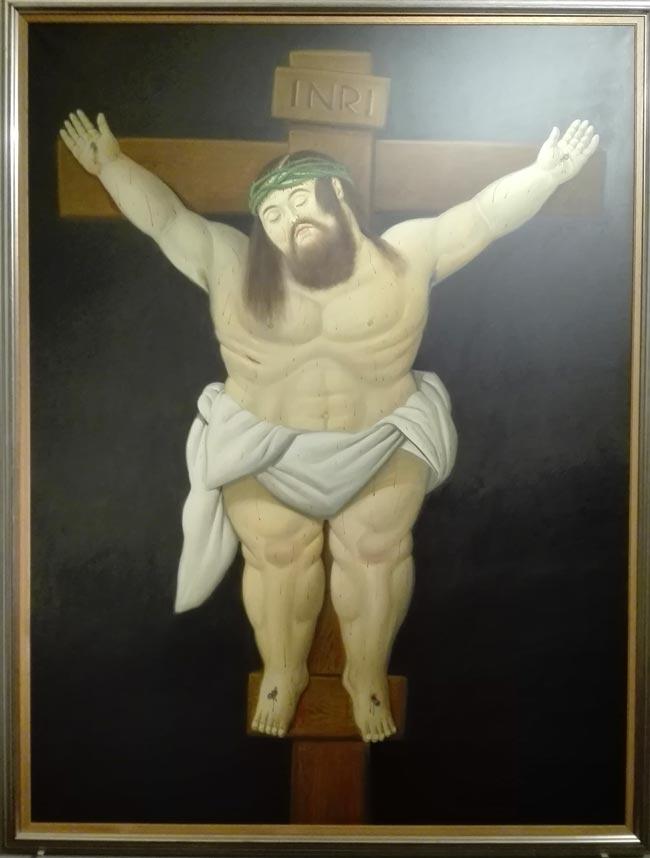 Cristo Crocefisso 2000 Botero