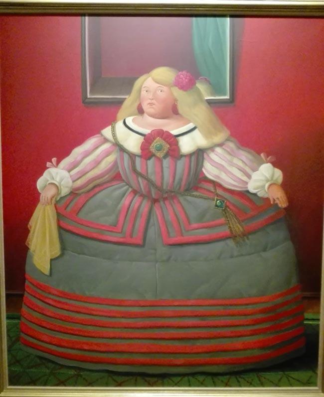 L'infante Margherita Teresa 2006 Botero