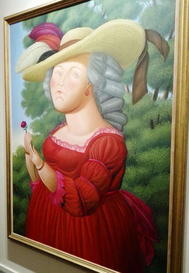 Maria Antonietta 2005 Botero