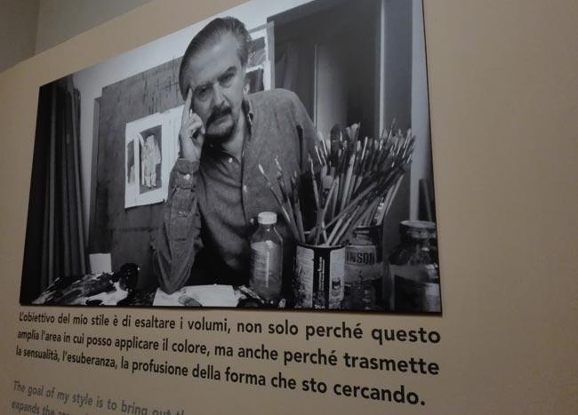 mostra Botero Verona insegna