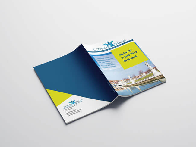 Confapi Padova bilancio mandato brochure