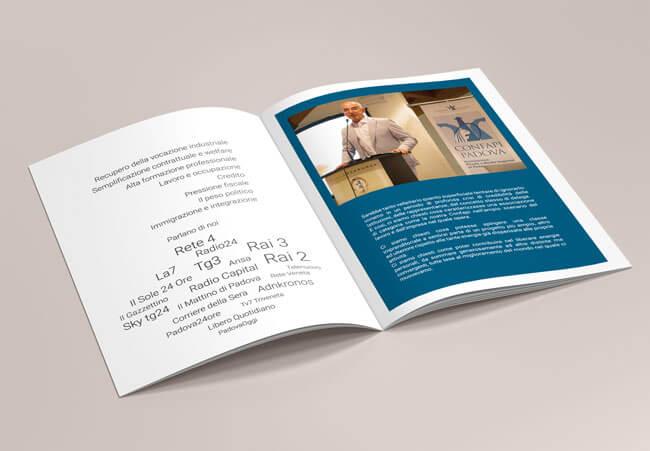creazione brochure associazione