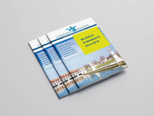 grafica brochure personalizzata Confapi Padova