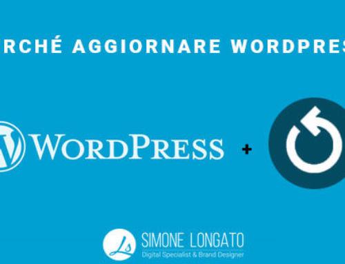Perchè aggiornare wordpress