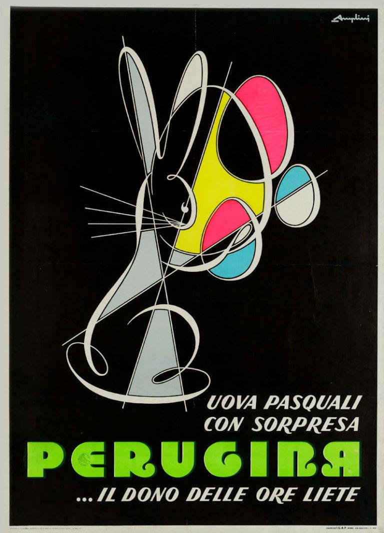 Advertising uova di Pasqua Angelini