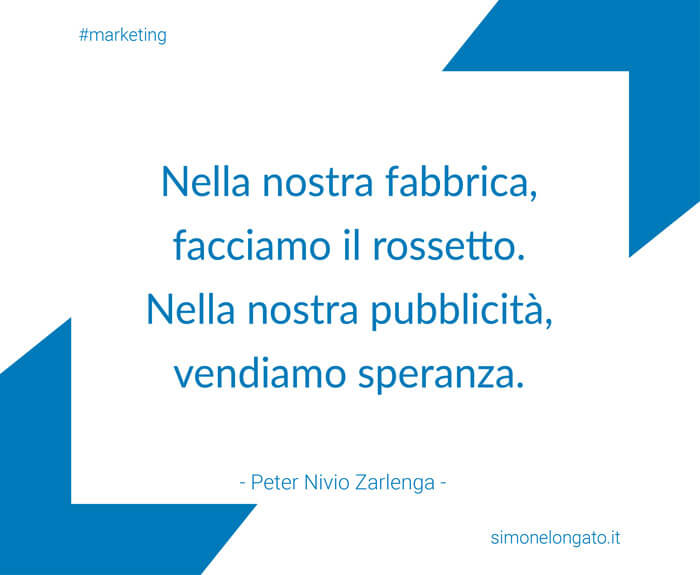 aforisma citazione Peter Nivio Zarlenga