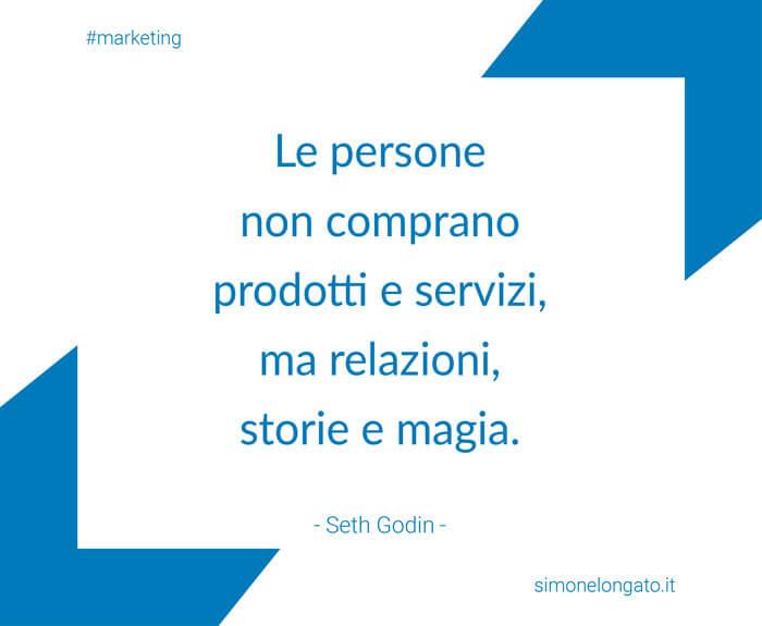 aforisma citazione marketing Seth Godin