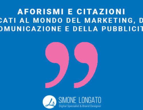 Aforisma Citazione Marketing Comunicazione
