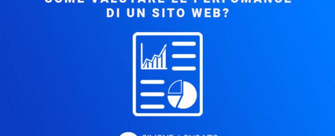 Come valutare le perfomance di un sito web?