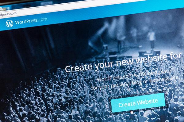 crea il tuo sito con wordpress