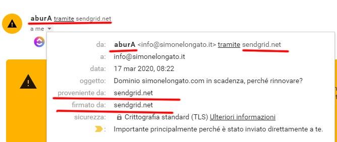 email sospette in azienda