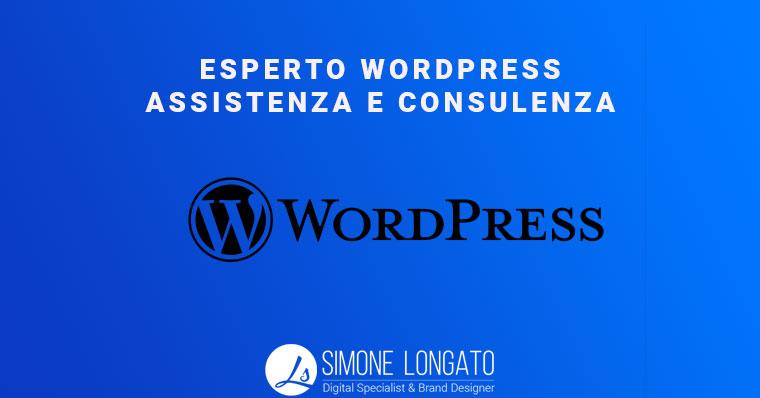 esperto WordPress assistenza e consulenza