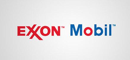 exxon mobil logo storia