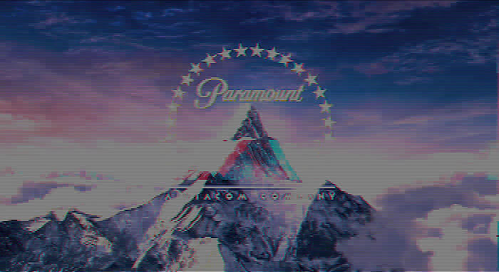 glitch art Paramount sito web