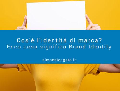 Brand Identity, identità di marca