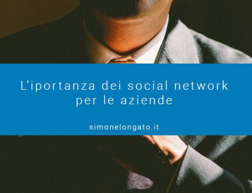 Importanza dei social network per le aziende