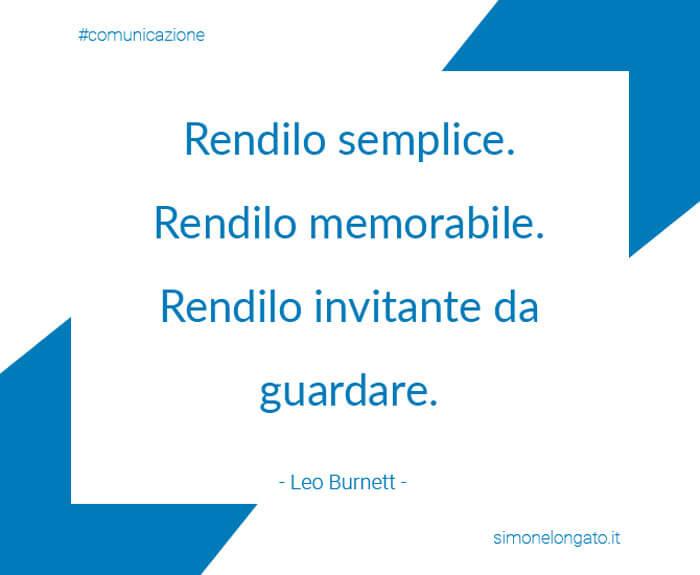 Leo Burnett citazione aforisma-marketing