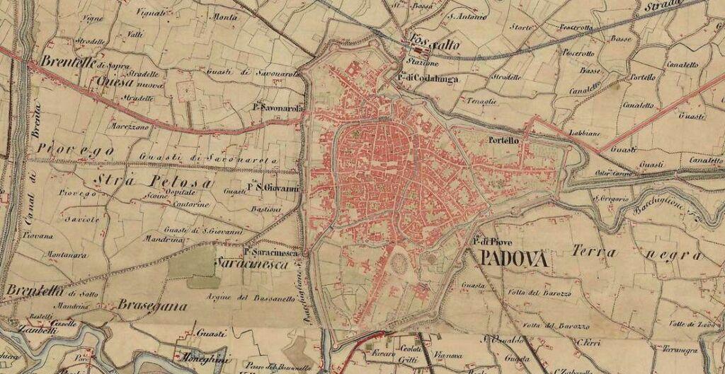 La mappa storica delle città nell'800: Mapire, la mappa interattiva su Google Maps