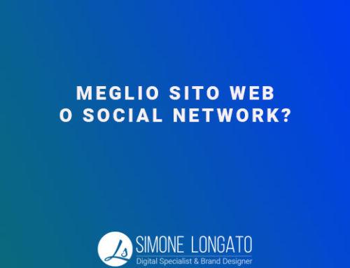 Meglio social network o sito web?