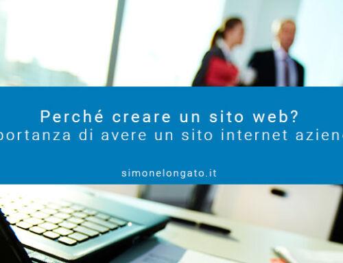 Perché creare un sito web?