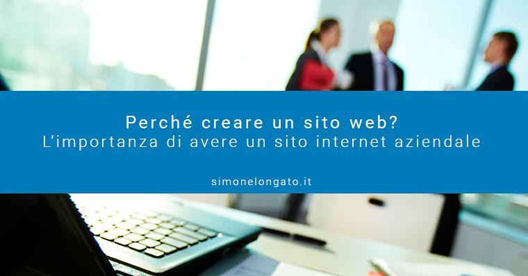 perché avere un sito web, l'importanza del sito internet