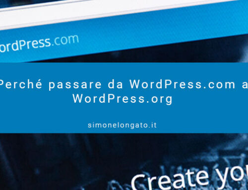 Perché passare da WordPress.com a WordPress.org