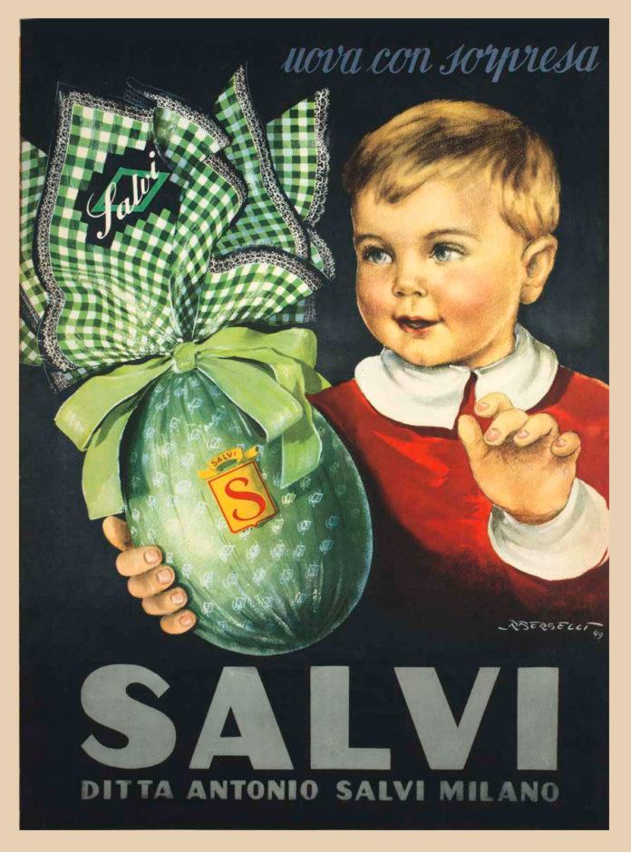 pubblicità ditta Antonio Salvi Berselli 1949
