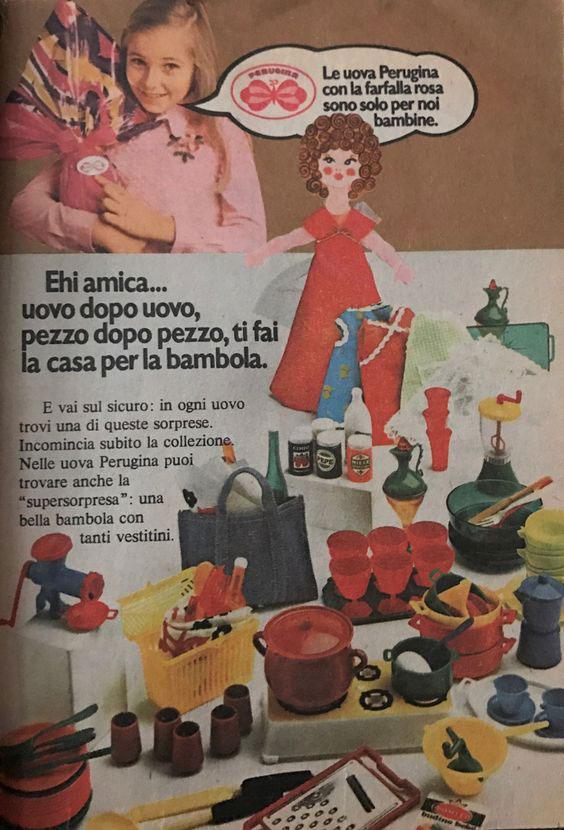pubblicità Perugina uovo Vintage