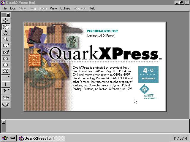 Quarkxpress 4.0 vecchie versioni