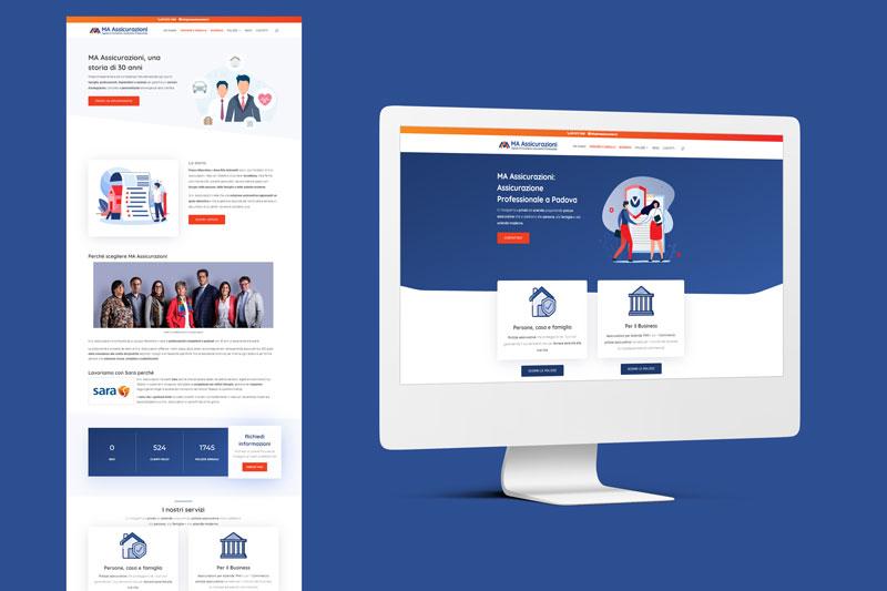 Realizzazione siti internet Padova