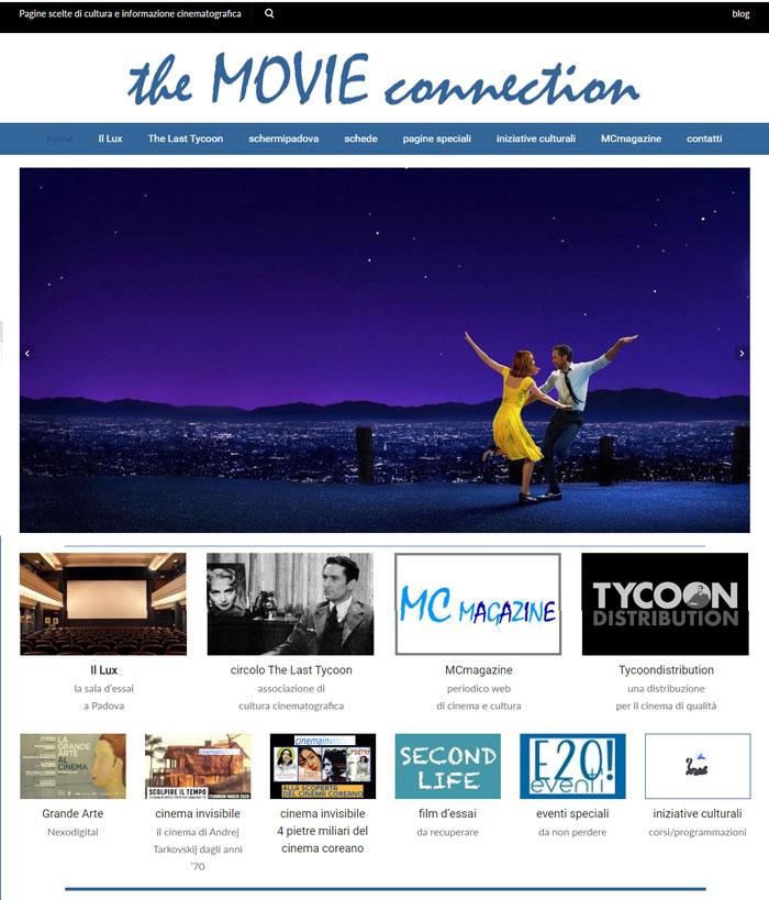 realizzazione sito per Cinema