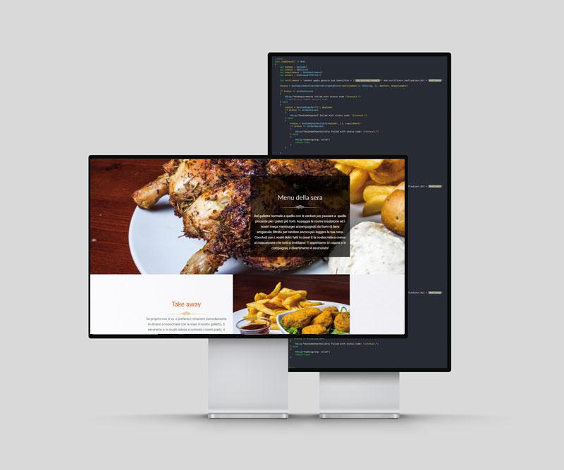 realizzazione sito ristorante