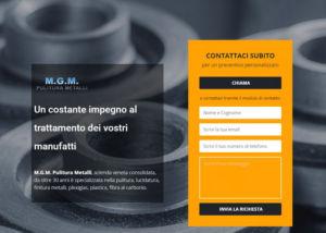 realizzazione sito web in html e css
