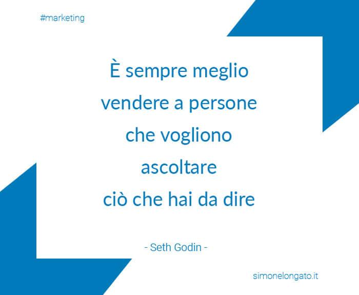 Seth Godin citazione aforisma-marketing