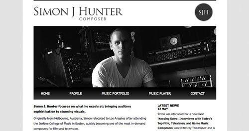 tendenza web design sito web black and white