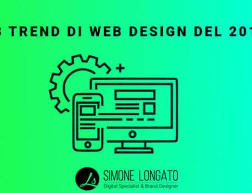 13 Trend di web design del 2019