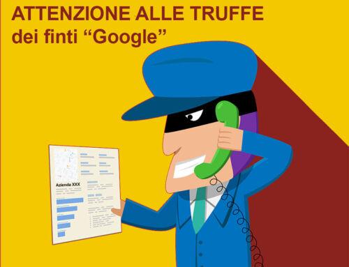 Truffa Google: mi ha chiamato Google