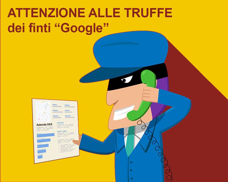 truffa Google