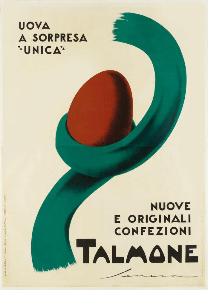 Federico Seneca, Talmone, pubblicità uova di Pasqua